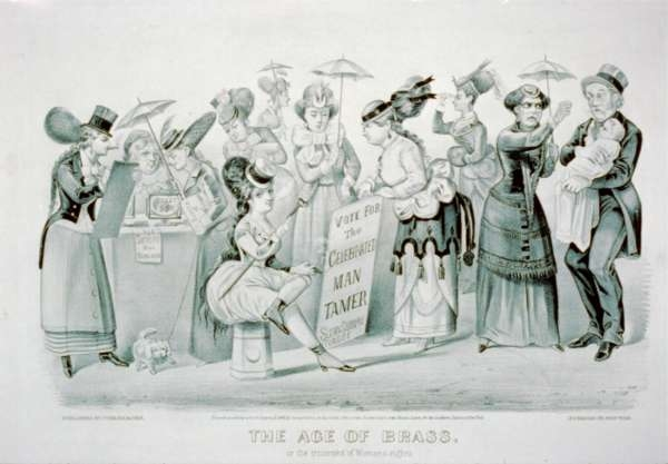 The Age of Brass, Or the Triumphs of Women's Right