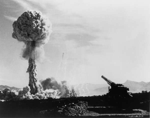 Frenchman's Flat, Nevada, Atomic Cannon Test