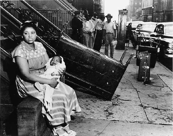 Woman and Baby Evicted From their Harlem Apartment