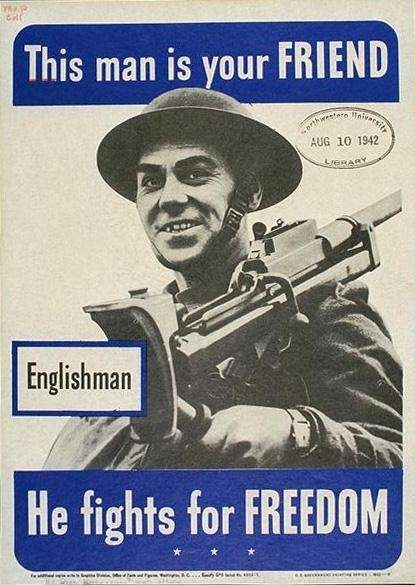 WW I Posters: This Man Is Your Friend--Englishman