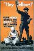 WW I Posters: Your Money Brings the Book