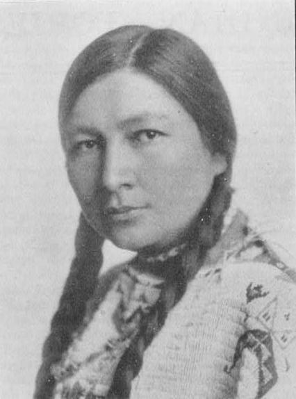 Zitkala-Sa (Gertrude Bonnin), a Dakota Sioux indian